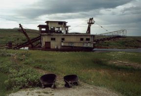 Grounded Dredge